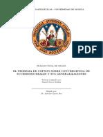 TFG_NIEVES ROLDAN_El Teorema de Copson Sobre Convergencia de Sucesiones Reales y Sus Generalizaciones.