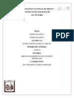TEORIA ELASTICA/ PLASTICA