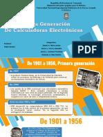 Primera Generacion