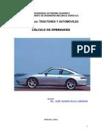 Guía Para El Cálculo de Embrague de Fricción Seca de Un Vehículo