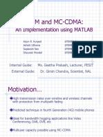 OFDM MC-CDMA