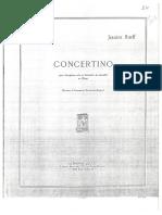 Concertino, Jeanine Rueff Pour Sax Alto Et Piano