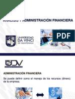 1.- Analisis y Administración Financiera