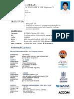 Hamid Raza Updated Safety CV