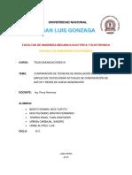 Comparación de Técnicas de Modulación Digital y Su Empleo en Tecnologías Actuales de Comunicación de Datos y Redes de Nueva Generación