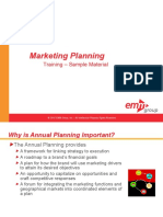 Marketing Planning Course Sample Materials v1 Ssd 100410 Ppt