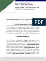 Ação de Despejo - Total Empreendimentos x Transportadora Hotta.doc