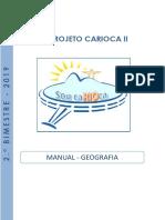 Manual Carioca II - GEOGRAFIA - 2º Bimestre