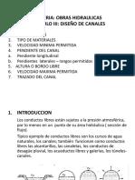 CAP 3 Diseño de Canales 1
