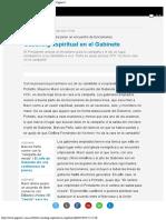 Coaching Espiritual en El Gabinete Macri y Pichet Página12