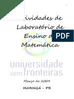 Atividades de Laboratório Ensino de Matemática