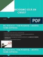 Crisis Del Periodismo (1)