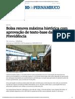 Bolsa Máxima Histórica _ Economia_ Diario de Pernambuco