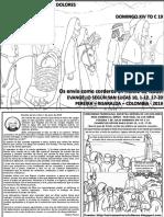 HOJITA EVANGELIO NIÑOS DOMINGO XIV TO C 19
