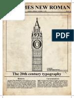 Times New Roman cartaz
