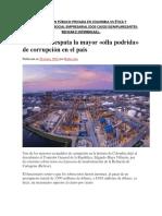 Corrupción Público-privada vs Ética y Rse.