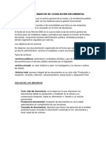 Conceptos Basicos de Legislacion Documental