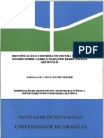 Drumond - Identificação de Sistema Pendular Inverso Sobre Carro Utilizando Redes Neurais Artificiais