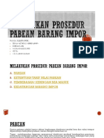BAB 6 Melakukan Prosedur Pabean Barang Impor
