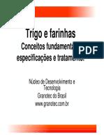 1 - Trigo e farinhas - conceitos fundamentais especificações e tratamento OK.pdf