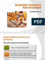 PPT Prepare Bakery Products for Patisserie 070214