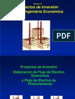 ING ECO Sem 9 2 Proyectos de Inversion FLUJOS