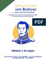 ISSIB005 Modulo 1 de Ingles