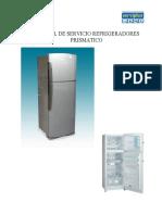 Manual Servicio Refrigeradores Prismaticos