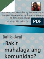 AP 2-Nakakukuha Ng Impormasyon Tungkol Sapangalan Ng Lugar at Pinuno Ng Kinabibilangang Komunida