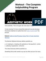 Aesthetic Workout - The Complete Anti-5x5 Bodybuilding Program.pdf
