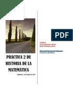 Práctica 2 de Histo. de Mat.