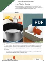 4 Formas de Fazer Cerâmica Plástica Caseira - WikiHow