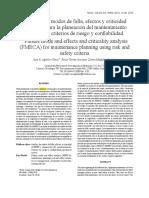Análisis de Modos de Falla, Efectos y Criticidad