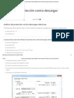 Protección Contra Descargas Eléctricas _ Software de Dimensionamiento de Cables de Puesta a Tierra y Protección