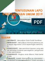 Subtansi Laporan Pemilu 2019
