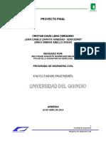 Proyecto Final Parte 1 hidrología