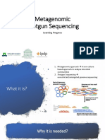 Metagenomic Shotgun Seq Learning Progress