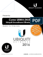 Curso UBWA