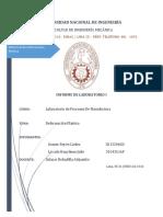Informe Deformacion Plastica