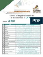 Centros Emp LaPaz EG 2019