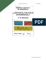 que es el calculo diferencial