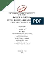 Informe de Trabajo Colaborativo III Unidad