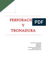 Perforacion y Tronadura Informe