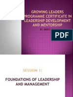 Glp Session 1-1 Leadership