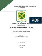 Monografía de El Contrabando en Tacna