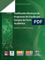 Clasificación Mexicana de Planes de Estudio Por Campos de Formación Académica 2011