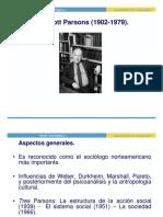 Parsons- Sociología.