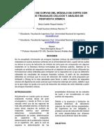 Comparación de Curvas Del Módulo de Corte Con Resultados Triaxiales Cíclicos y Análisis de Respuesta Sísmica