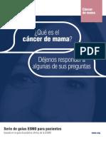 ES Cancer de Mama Guia Para Pacientes