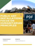 Public Art Installations Focus on Humanitarian Principles